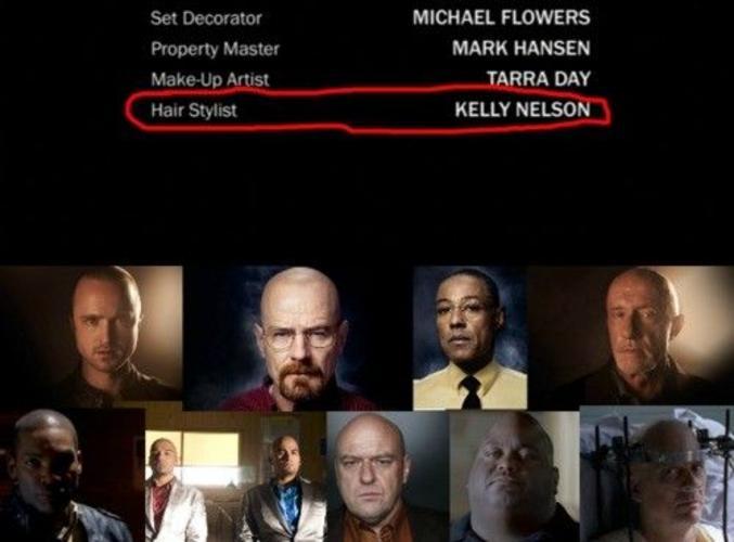 Dans les très courts-métrages ? #Breaking_Bald