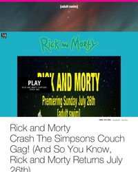 Rick and Morty, épisodes en ligne (en Anglais)