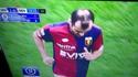 Nouvelle coiffure de footballeur