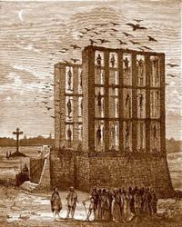 Un monument disparu de Paris : Le Gibet de Montfaucon
