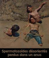 Spermatozoïdes désorientés