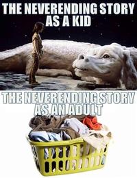 L'histoire sans fin quand j'étais petit