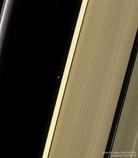 Terre & Lune depuis Saturne