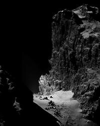 Vue de la comète 67P/Tchourioumov-Guérassimenko