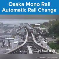 Monorail à Osaka