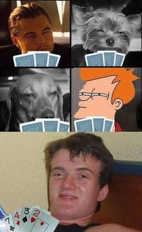 Une partie de cartes
