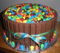 gâteau avec trop de chocolat
