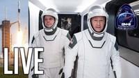 Le direct du lancement du premier vol habité de la capsule spaceX en français