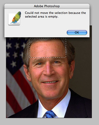 Bush sous photoshop