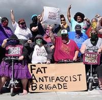Lourde manifestation antifa (le recul de la haine)