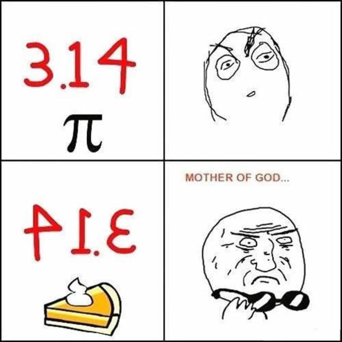 """Mais oui, c'est évident. Pour les non-anglophones, """"pie"""" signifie """"tarte""""."""
