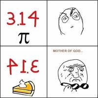 Pi vs Pie