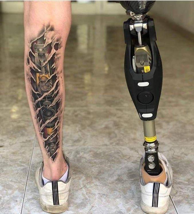 Bon, en revanche il ne faut pas qu'il change de fournisseur de prothèse.