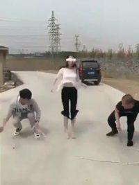 Championne du monde de corde à sauter (mais dans sa tête)