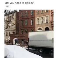 Voyons, calme-toi chérie !