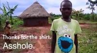 Merci pour le t-shirt