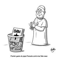 Le Pape François part en croisade contre les fake news