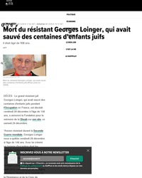 RIP Georges Loinger