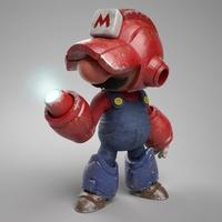 Mariobot ou Iron-Mario ?
