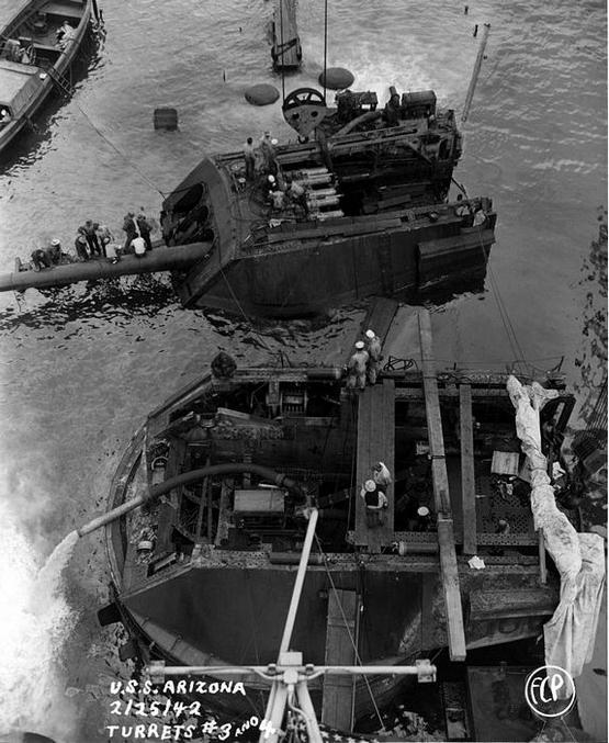 ...sur Pearl Harbour le 7 Décembre 1941.
