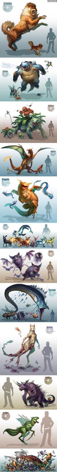 "Pokémon ""réaliste"""