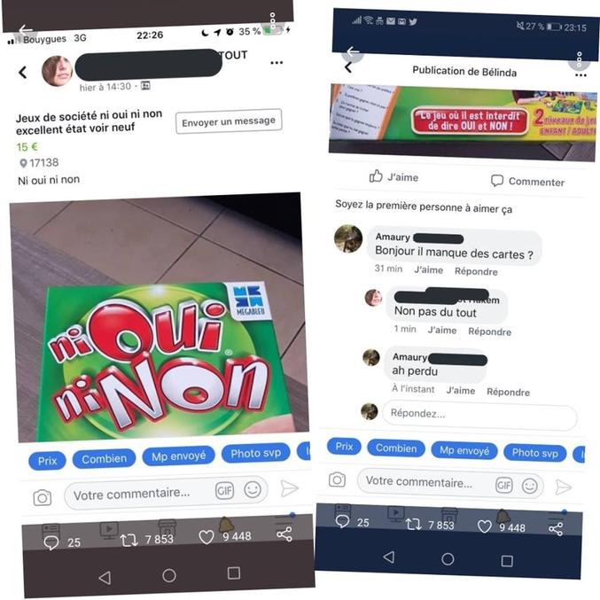 On ne sait pas si elle a réussi à vendre son jeu.