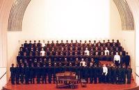 The San Francisco gay men's choir (la chorale des gays de San Francisco) en 1993