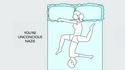 Ce que votre position pour dormir signifie dans votre relation