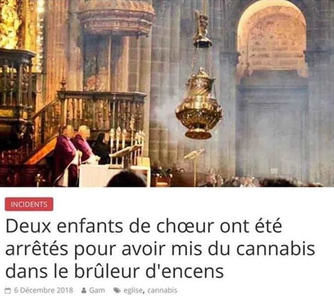 Ils en avaient sans doute marre des pipes avec Monsieur le curé !