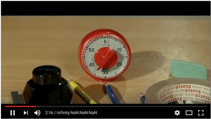 Youtube a un soucis de timecode, mais n'est pas le seul que le temps qui passe insupporte.  De quel film est extraite cette image ?
