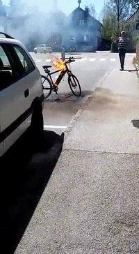 Un vélo ...