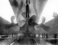 """1908: les hélices du """"Titanic"""" sont opérationnelles"""