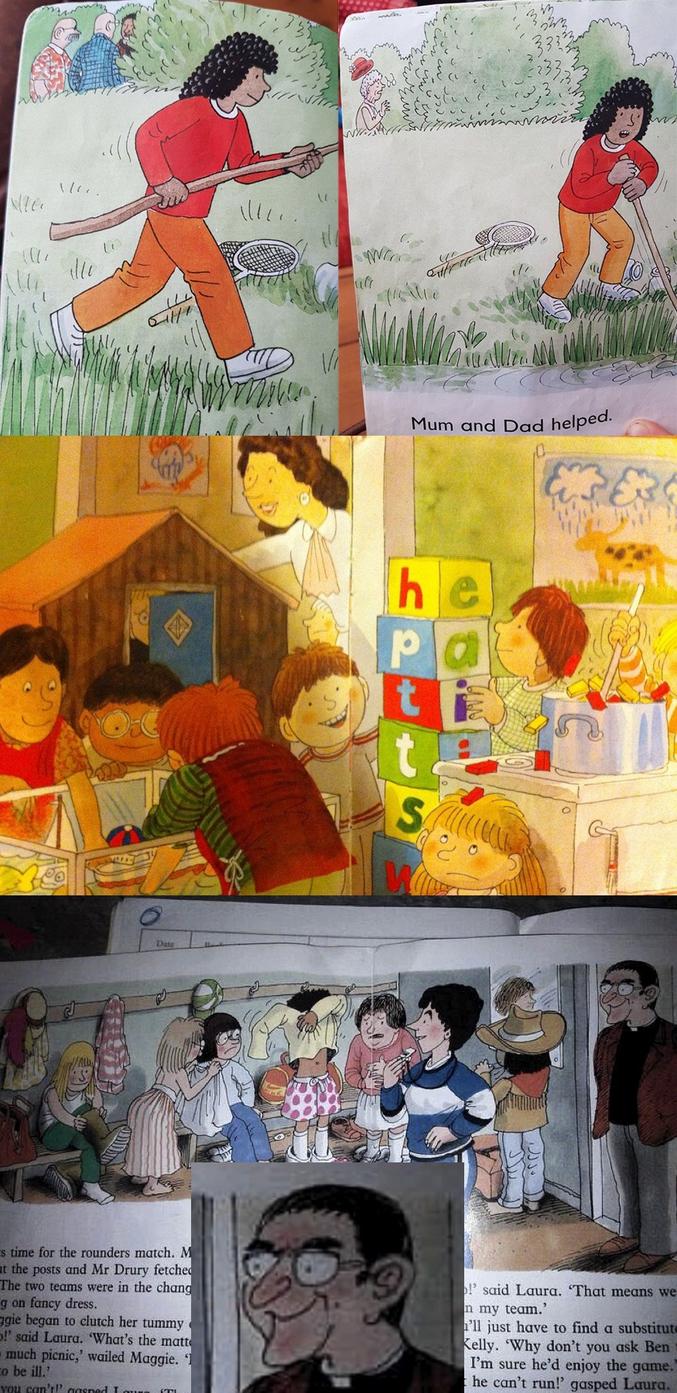 Quelques surprises se cachent dans les dessins de livres d'enfants