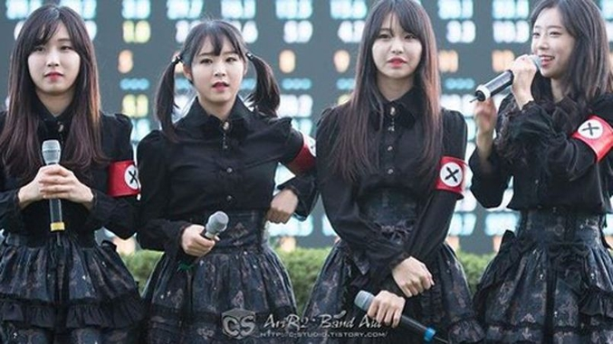 Elles font führer en Corée!  Comme ça, c'est fait. Vu que ça arrivera forcément dans les commentaires... :)