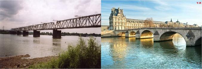 L'Ob et la Seine , s'il n'en faisant qu'un ....