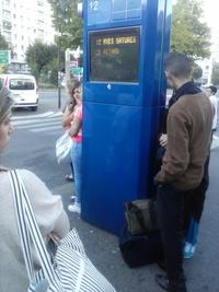 Par chez moi quand on souhaite prendre le bus ...