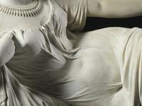 Cléopâtre mourante - Détail