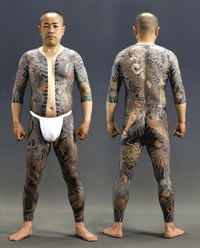 Tatouage sur tout le corps
