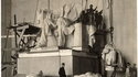 Assemblage de la statue de Lincoln