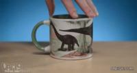 Mug dinosaures