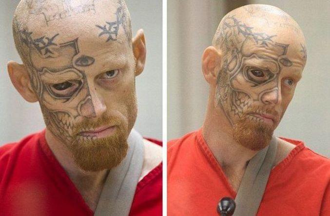 Un homme a deux visages.
