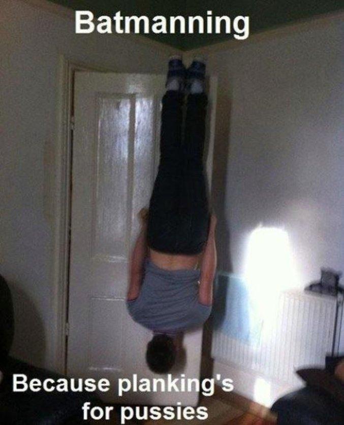 Parce que le planking, c'est pour les mauviettes.