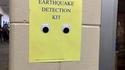 Détecteur de tremblement de terre