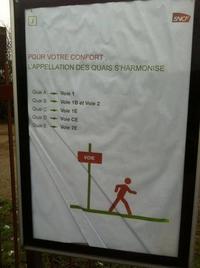 la simplification selon la SNCF