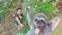 Selfie avec flash