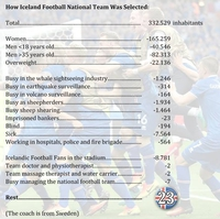 Processus de sélection de l'équipe islandaise
