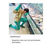 Aquaman en deuil
