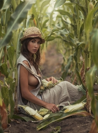 Pendant ce temps, dans un champ de maïs...