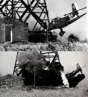 Un Stuka s'écrase (front russe)