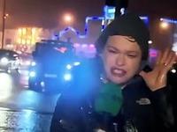 Une journaliste stoppée dans son élan de prévention